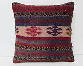kilim pillow 20x20 boho cushion cover throw pillow turkish kilim rug pillow moroccan floor cushion turkish pillow cover boho pillows 25917