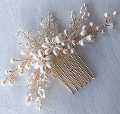 Nupcial peine, peine del pelo de la boda, tocado de novia, pedazo de cabello novia, accesorios cabello novia, boda peine, magique
