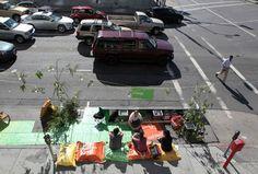 A Park in a Parking Spot