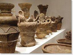 釈迦堂遺跡博物館の土器