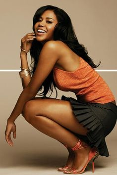 Amerie - R & B singer Half-Korean and Half-African-American Stunner The Leggy Vixen wowed me with her Hitch Soundtrack single 1-Thing ....The Fishnet Stockings along with the Choreography in The Music Video is  a Moment in Video. History.....She could could catch Me any day.... Girlie is TOO HOT !!!