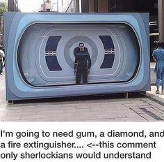 how to break Khan out of the glass (Star Trek/Sherlock crossover)