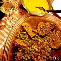 Gourmet Israel: Tabshil de ternera Jewish Recipes, Meat Recipes, Comida Kosher, Low Carb Meats, Israeli Food, Chana Masala, Chili, Soup, Vegetables