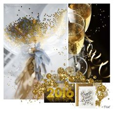 """""""✨A  Happy New Year 2016✨"""" by pillef ❤ liked on Polyvore featuring art"""