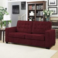 Shop for Portfolio Adaira Berry Red Chenille SoFast Sofa . Get free shipping at Overstock.com - Your Online Furniture Outlet Store! Get 5% in rewards with Club O!