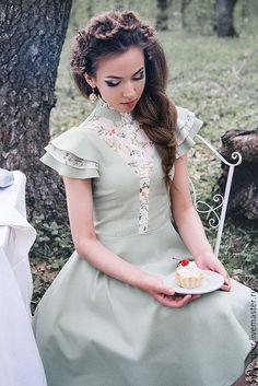 Lovely Dresses, Elegant Dresses, Vintage Dresses, Casual Dresses, Vintage Outfits, Summer Dresses, Dress Outfits, Fashion Dresses, Baby Girl Dress Patterns