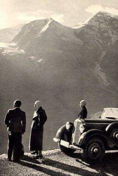 Germany. German Alps, 1938, pined from Mike Catalonian