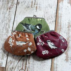 Cute bird purses