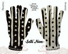 Guantes-Selknam1 Lana, Gloves, Culture, Tatoo, Clothing Styles, Tejidos, Manualidades, Bicycle Kick, Mittens