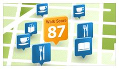 Find your neighborhood's Walk Score - When you want to know how easy it is to navigate a neighborhood by walking, this is the site to do it.  Great when you get ready to move.