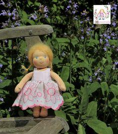 Zakázková waldorfská panenka, 25 cm Teddy Bear, Dolls, Animals, Baby Dolls, Animales, Animaux, Puppet, Teddy Bears, Doll