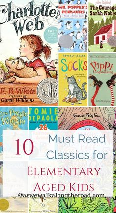 Are you looking for great books to read with your younger elementary aged kids? Here's a list you don't want to miss- plus a great literature unit studies collection for FREE. Read Aloud Books, Good Books, Must Read Classics, Homeschool Books, Homeschooling Resources, Teacher Resources, Book Study, Kids Reading, Reading Lists