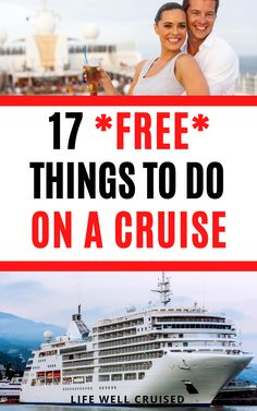 Even with all the extras that cruise lines are trying to sell, there's actually a ton of free stuff to do on a cruise (a lot of it is awesome!). Find out the best things to do on sea days, in evenings and all around the cruise ship for everyone in the family. These 17 cruise activities will surprise you! #cruisetips #cruises #cruisethingstodo #cruising #cruiseactivities Cruise Port, Cruise Travel, Cruise Vacation, Cruise Ship Reviews, Best Cruise Ships, Packing List For Cruise, Cruise Tips, Carnival Cruise Ships, Norwegian Cruise Line
