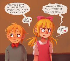 Helga and Arnold Nickelodeon Cartoons, Old Cartoons, Arnold And Helga, Art Bin, Dc Anime, Hey Love, Anime Child, Old Shows, Couple Cartoon