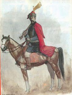 Der dreissigjährige Krieg v1.0 - Page 13 Croatian cavalry officer, 1618-1648