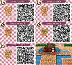 qr codes animal crossing new leaf - Yahoo Image Search Results | QR on happy home designer art, happy home designer apps, happy home blog,