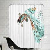 Found it at AllModern - Guppy Fish 2 Shower Curtain