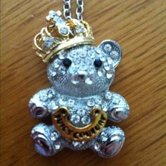 **New Juicy Couture Teddy Bear Necklace**