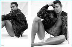 DSection celebrates its fifth anniversary with a special book featuring Cristiano Ronaldo. The soccer icon covers the project with a shoot captured by photographer Philippe Vogelenzang. Ronaldo reunites with stylist Nelly de Melo Gonçalves for the occasion. The Real Madrid player poses for relaxed images, donning fall-winter 2016 fashions from Berluti, Louis Vuitton, Giorgio Armani,... [Read More]