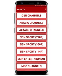 Download the Yacine_TV application to follow the live
