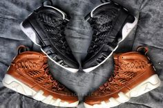 d24ff831621ef1 Air Jordan 9 Baseball Glove Pack Release Date. The Air Jordan 9 Baseball  Glove Pack in Black Leather and Brown Leather release details