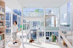 Architectural Love // Sou Fujimoto Architects // House NA