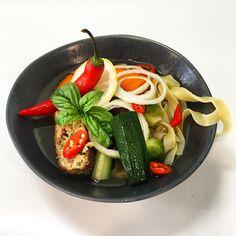 Hanoi meets Vienna … Pork-Dumpling-Soup … Fleischlaberl-Suppe … #Saigon #Vietnam #Indochina #Vienna #ChefThomas #cooking #baking #pork #lunch #dinner #FleischLaberl  (at Les Grasbergers)