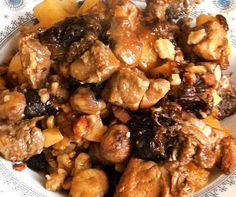 Sauté de porc marrons-pruneaux