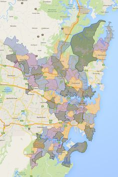 Sydney High School Catchment Zones