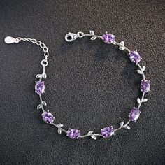 RJ brand bestselling HOT 925 sterling silver & AAAAA crystal & 3 layers of full crystal Lucky Leaf bracelets Cute Jewelry, Jewelry Accessories, Fashion Accessories, Fancy Watches, Accesorios Casual, Crystal Crown, Fantasy Jewelry, Jewelry Photography, Fashion Rings