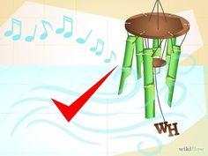Comment faire un carillon en bambou                                                                                                                                                                                 Plus