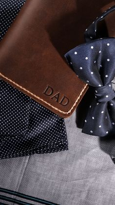 Happy Father's day. Groomsmen Gifts Ideas, PERSONALIZED Gift Sets, Wedding Gifts, Groomsmen Gifts, Handmade Leather Wallets created by JooJoobs