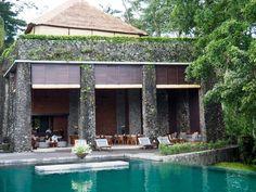 Cabana Lounge - poolside at Alila Ubud