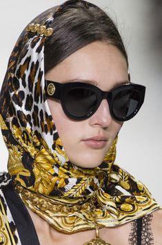 a258d6e0dac3 eBay  Sponsored NEW Genuine VERSACE TRIBUTE COOLLECTION Black Gold  Sunglasses VE 4353 GB187 Versace Sunglasses