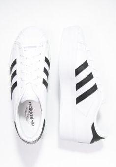 Bestill adidas Originals SUPERSTAR RIZE - Joggesko - white/core black for kr 849,00 (04.01.16) med gratis frakt på Zalando.no