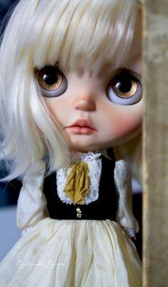 OOAk Custom Blythe Art Doll - Magnolia- by Cupcake Curio