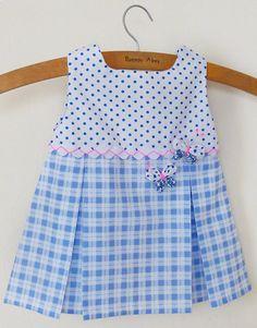 Baby Girl Dress Patterns   Baby Dress Pattern Tutorial Girl pdf - S,M,L with Yo Yo butterflies ...