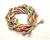 ユニセックス自由奔放に生きるシックなスカーフ ・ ネックレス ・ スカーフ ラップ - サークル スカーフ - ギフトの考え