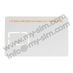 Encontrar Más Tarjetas de SIM Información acerca de Nano en blanco tarjeta USIM Nano 4 G LTE en blanco en blanco, Nano cortaron + estándar corte ( 4FF + 2FF ), alta calidad tarjeta de tratar, China los titulares de tarjetas para tarjetas de visita Proveedores, barato tarjeta de espera de my-sim en Aliexpress.com