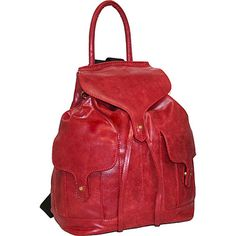 Nino Bossi Carry it All Back Pack for Him and Her Red - Nino Bossi School & Day Hiking Backpacks