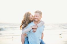 Sweet & Sexy Beach Engagement Shoot | Closer To Love Photography