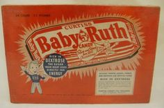 Curtis Baby Ruth Candy Box