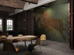 www.mihaela-damian.com  Loft Interior Loft Interiors, Habitats, Architecture Design, Interiors, Architecture Layout, Architecture