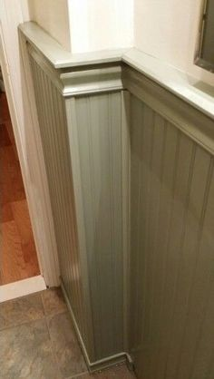 How To Install Wainscoting Over Wall Tile In A Bathroom Home