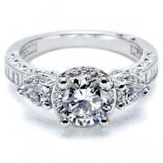 Tacori HT2533RD Engagement Ring- Genesis Diamonds