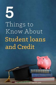 If you have student loans, you need to read this post. There are 5 important things you need to know about student loans and credit.