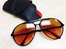 cba6cbf6e358 New 2015 Ray Ban Wayfarer Deep Brown Golden Sunglasses. Oscar Braynon · Vintage  Serengeti Sunglasses