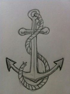 Anchor drawing_Perfect for beginners☆