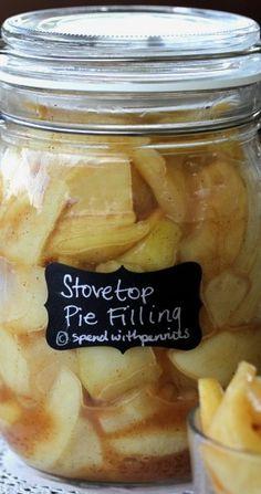 Quick Stovetop Apple Pie Filling