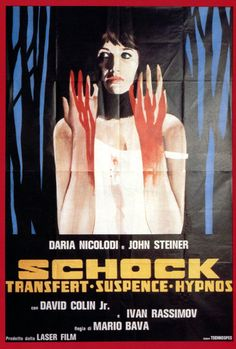 Directed by Mario Bava.  With Daria Nicolodi, John Steiner, David Colin Jr., Ivan Rassimov. A couple is terrorized in their new house haunted by the vengeful ghost of the woman's former husband who possesses her young son.